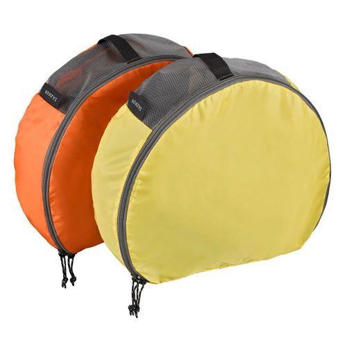 Conjunto de 2 bolsas de arrumacao para trekking Meia-lua 2x7L 1/2 moon organizers 2x7l, no size