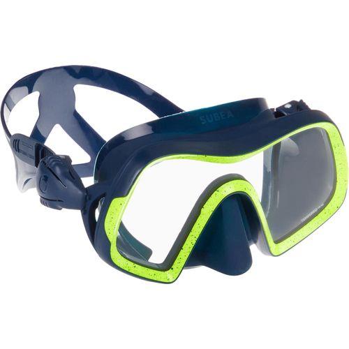 mascara-scuba-diving-500-azul-amarelo-m-g1