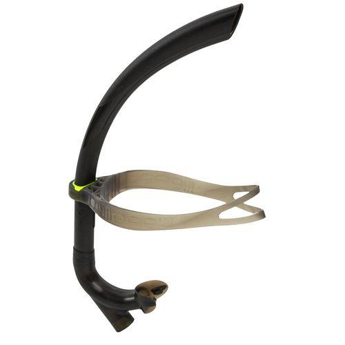 Snorkel Frontal de Natação 500 - Front snorkel 500 l black yellow, l