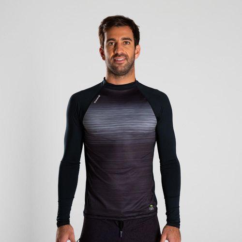 Camiseta Manga Longa Masculina de natação UV50+ 500