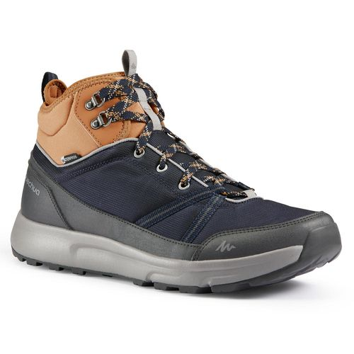 Bota impermeável masculina de trilha NH150 Mid Nh150 mid protect men sho, uk 11 - eu 46 Asphalt-blue 39