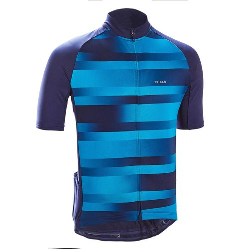 Camisa Ciclismo RC100 Ss jersey men rc100 line red navy, xs Azul-marinho P