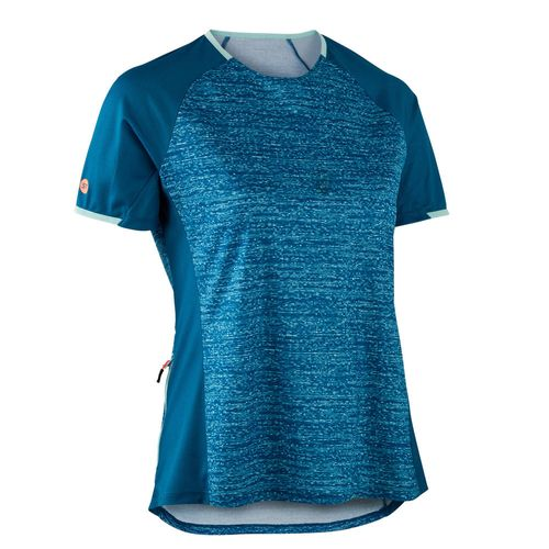 Camisa Ciclismo ST 100 Mtb ss jersey st100 women blue, P