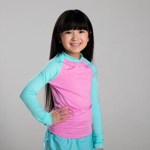 Camiseta-de-Manga-Longa-Infantil-com-Protecao-Solar-UV50--Olaian