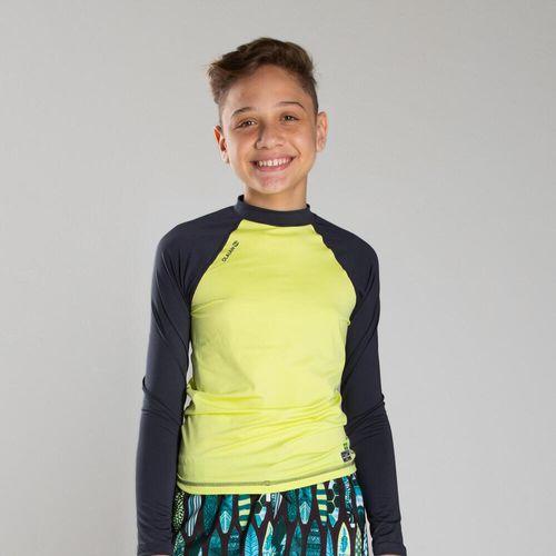 Camiseta Manga Longa infantil Proteção Solar 500