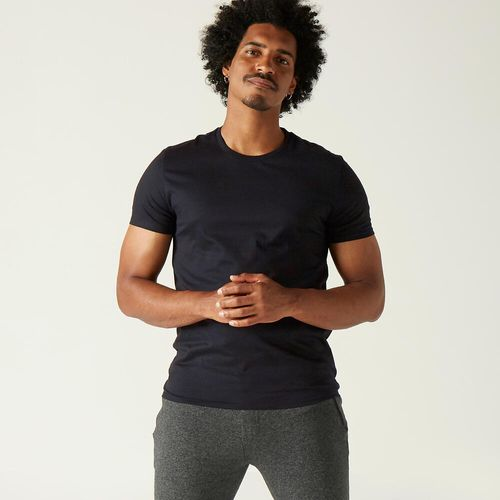T-shirt-gym-h-100-sportee-black-gg