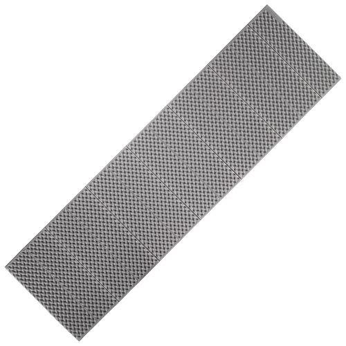 Colchao-espuma-de-trekking---TREK-100-dobravel-cinzento