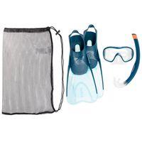 Kit-snorkeling-adulto-azul-claro-44-45-40-41