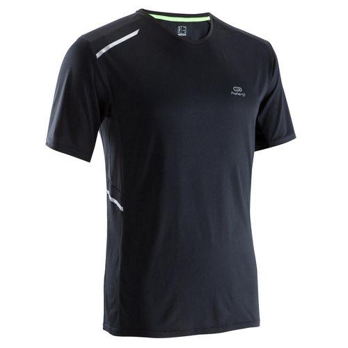 Camiseta-masculina-de-corrida-Run-Dry-Plus-preto-3G