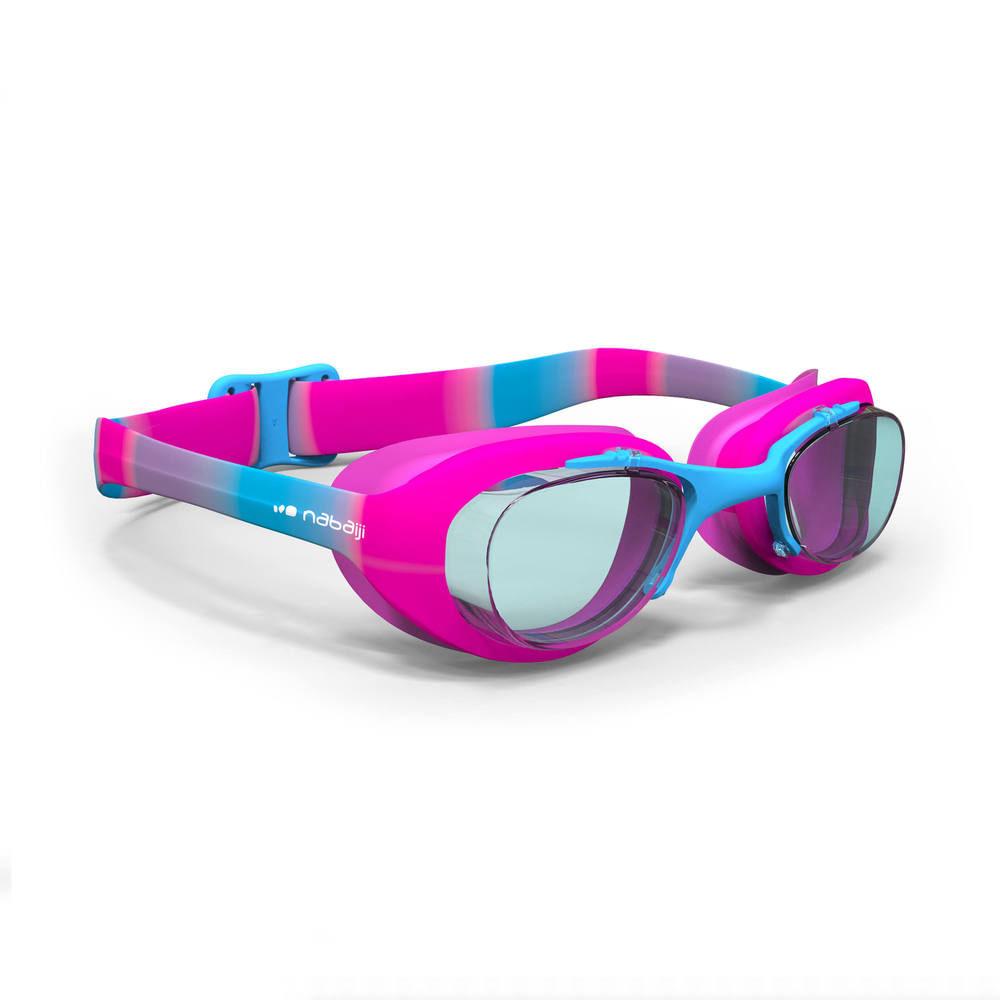 cd37369f0 Óculos de natação XBASE PRINT Tamanho pequeno - Decathlon