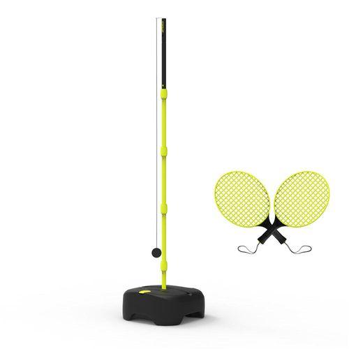 Turnball para Speedball (Conjunto de 1 poste, 2 raquetes e 1 bola) - Turnball jr 2021, no size, verde-preto, ÚNICO