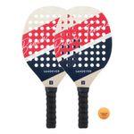 Set-beach-tennis-experience-vermelho-tam-unico-Vermelho-UNICO