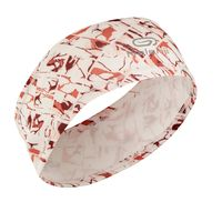 Running-headband-rosa-print-tam-unico-Laranja-aurora-UNICO