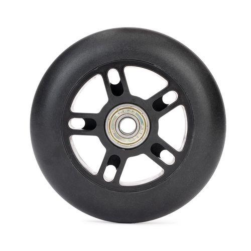Roda de patinete com rolamentos 100mm - Wheel 100mm black, noir