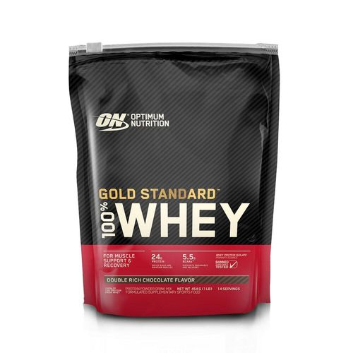 Whey chocolate 454g Optimum Nutrition - *on gold stand choco 1l, no size