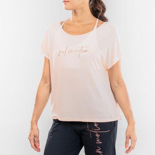Camiseta feminina fluida de dança moderna