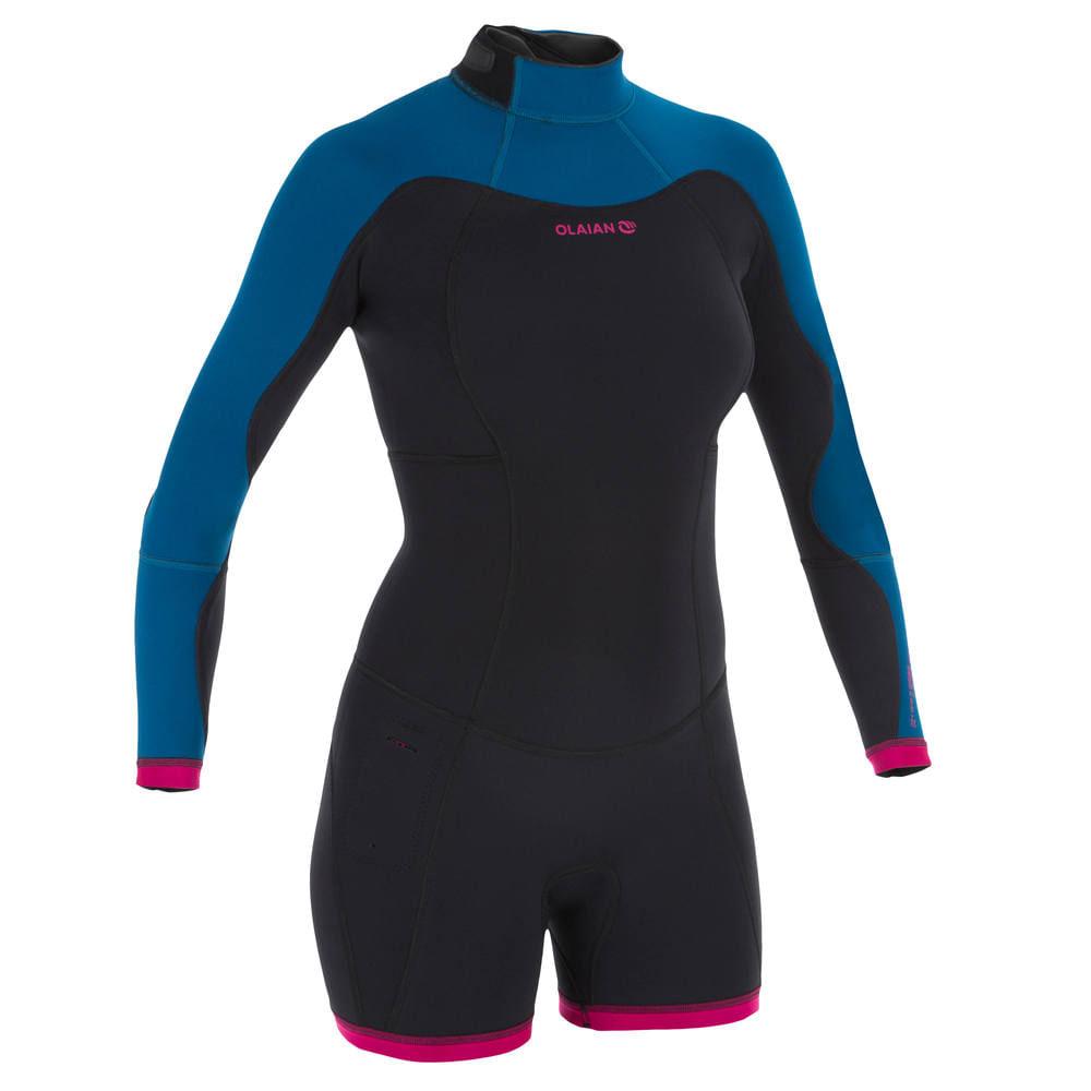 221fb2bcb Neoprene de Surf Shorty 900 feminino - DecathlonPro