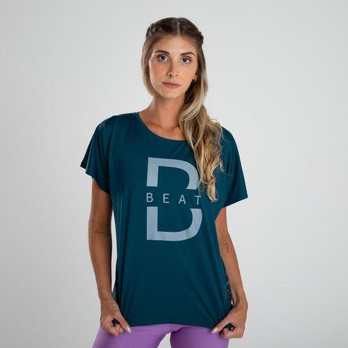 Camiseta de poliéster feminina Fitness Cardio Loose 120 - *cta loose flowline green 120 oi21, 2xl 3G