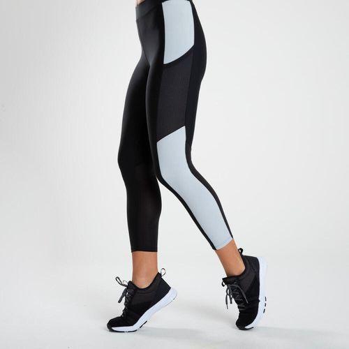 Legging 7/8 de poliéster feminina Fitness Cardio 120