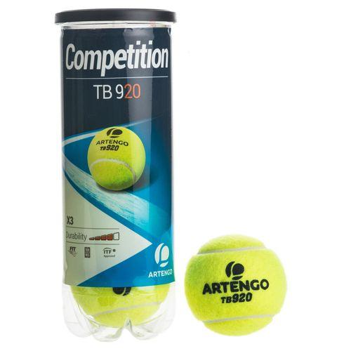 Bola-de-Tenis-TB920-Oficial-Moselle-Open--ATP-250--x-3-bolas--amarelo-neon-UNICO