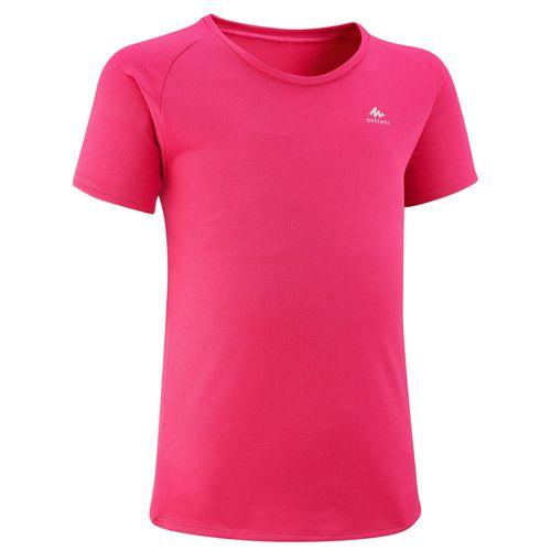 Camiseta-infantil-de-trilha-MH500-rosa-10---11-ANOS