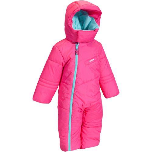 ddfa38261 Roupa infantil para neve Trenó 100 Wed´ze - ALLIN1 BABY 100 PINK 18
