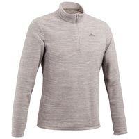 blusa-fleece-masculina-de-trilha-mh100-cinza-claro-3g1