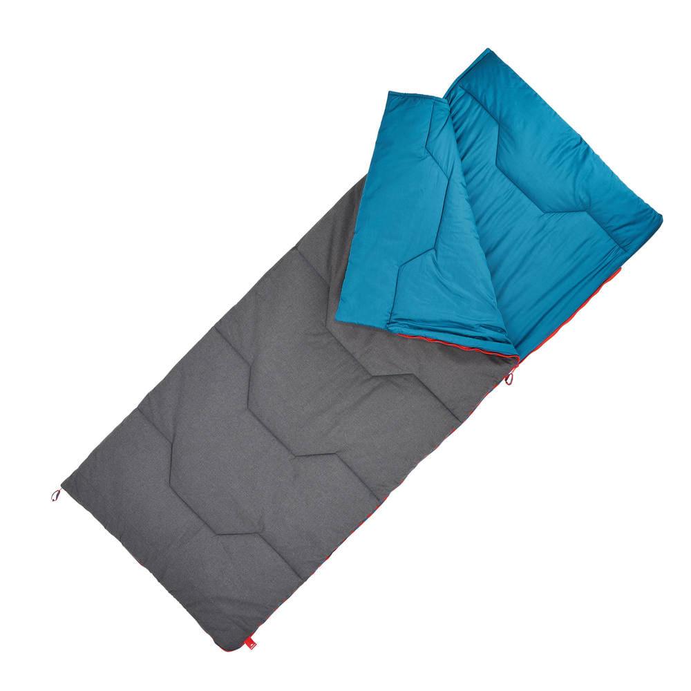 048fe75ae Saco de dormir de trilha Arpenaz 10° Algodão Quechua - Decathlon