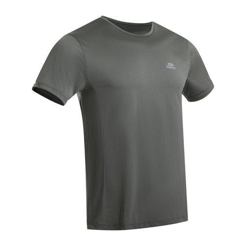 Camiseta-masculina-de-corrida-Run-Dry-caqui-3G