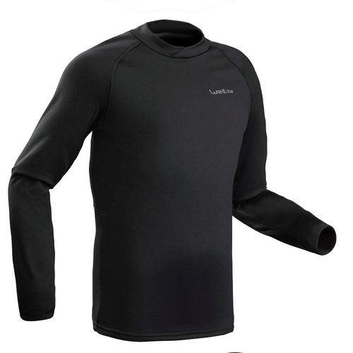 Blusa-segunda-pele--masculina-de-ski-Freshwarm-cinza-escura-GG