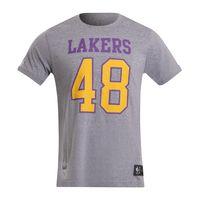 Camiseta-Masculina-de-Basquete-Lakers-cinza-G