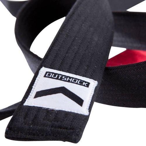 Faixa de Graduação Preta Jiu-Jitsu Adulto - BJJ BELT BLACK, 270CM