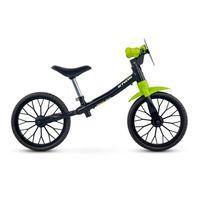 Bicicleta-Infantil-Equilibrio-Aro-12-Runride-100-Sem-Freio-Preta-Verde
