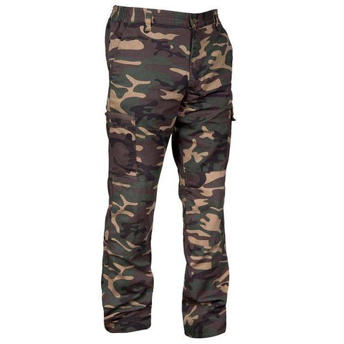 Calça masculina Steppe 300 Woodland Solognac