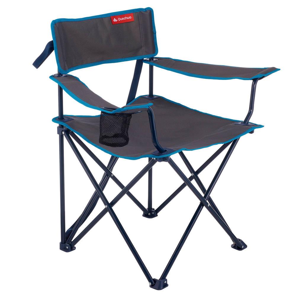 Cadeira dobrável com porta copo Quechua - decathlonstore 5771c1f26b04e