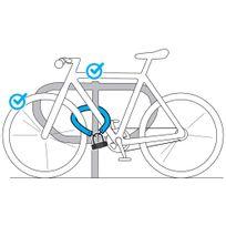 84ca8248306d0 Cadeado de corrente para bicicleta - DecathlonPro