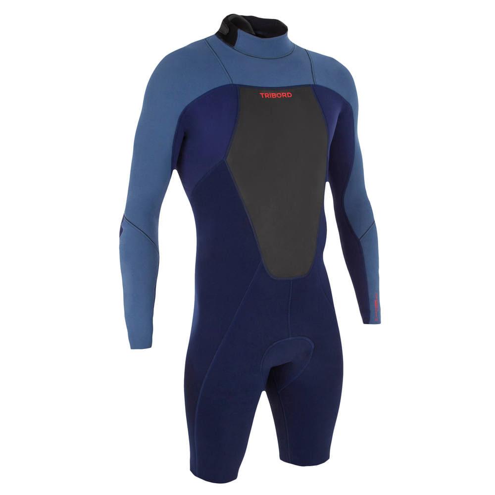 064d96c55 Neoprene de Surf Shorty 500 masculino - Decathlon