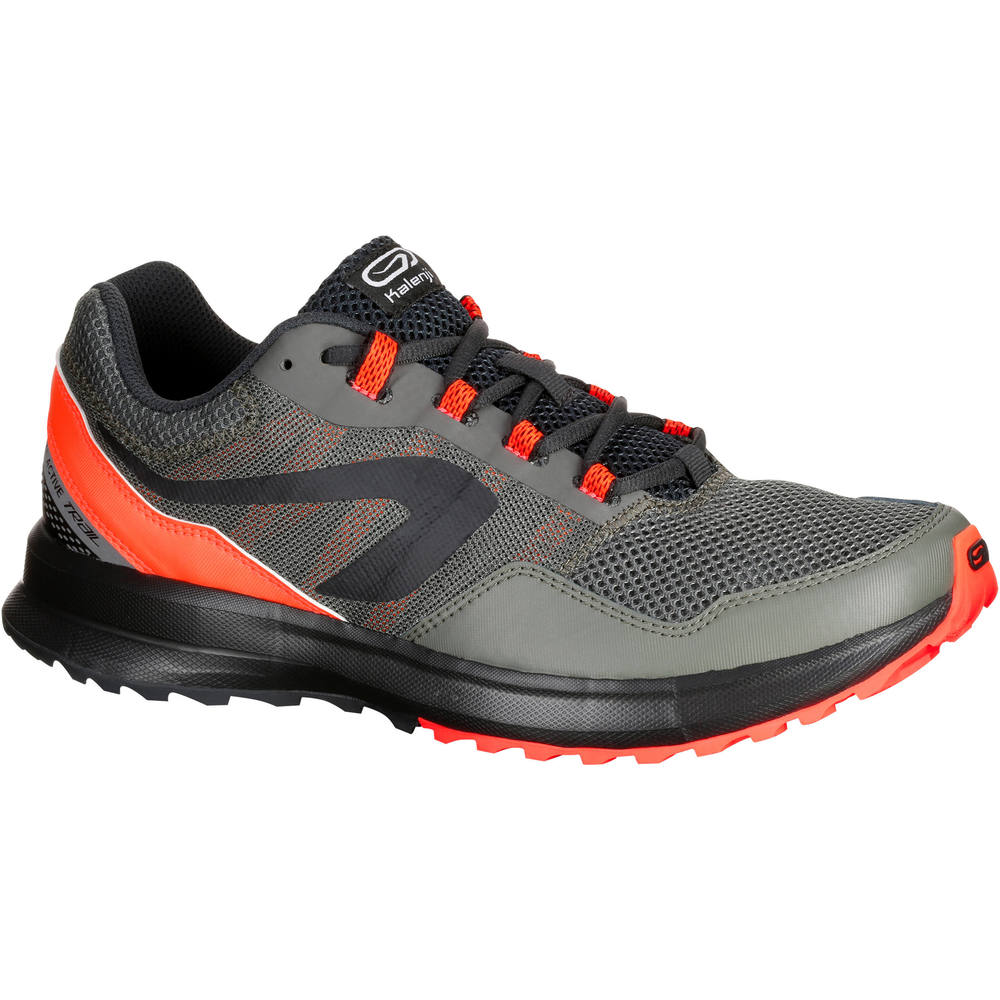 Tênis masculino de corrida Run Active Grip Kalenji - RUN ACTIVE GRIP M  BLACK 82f882d185c