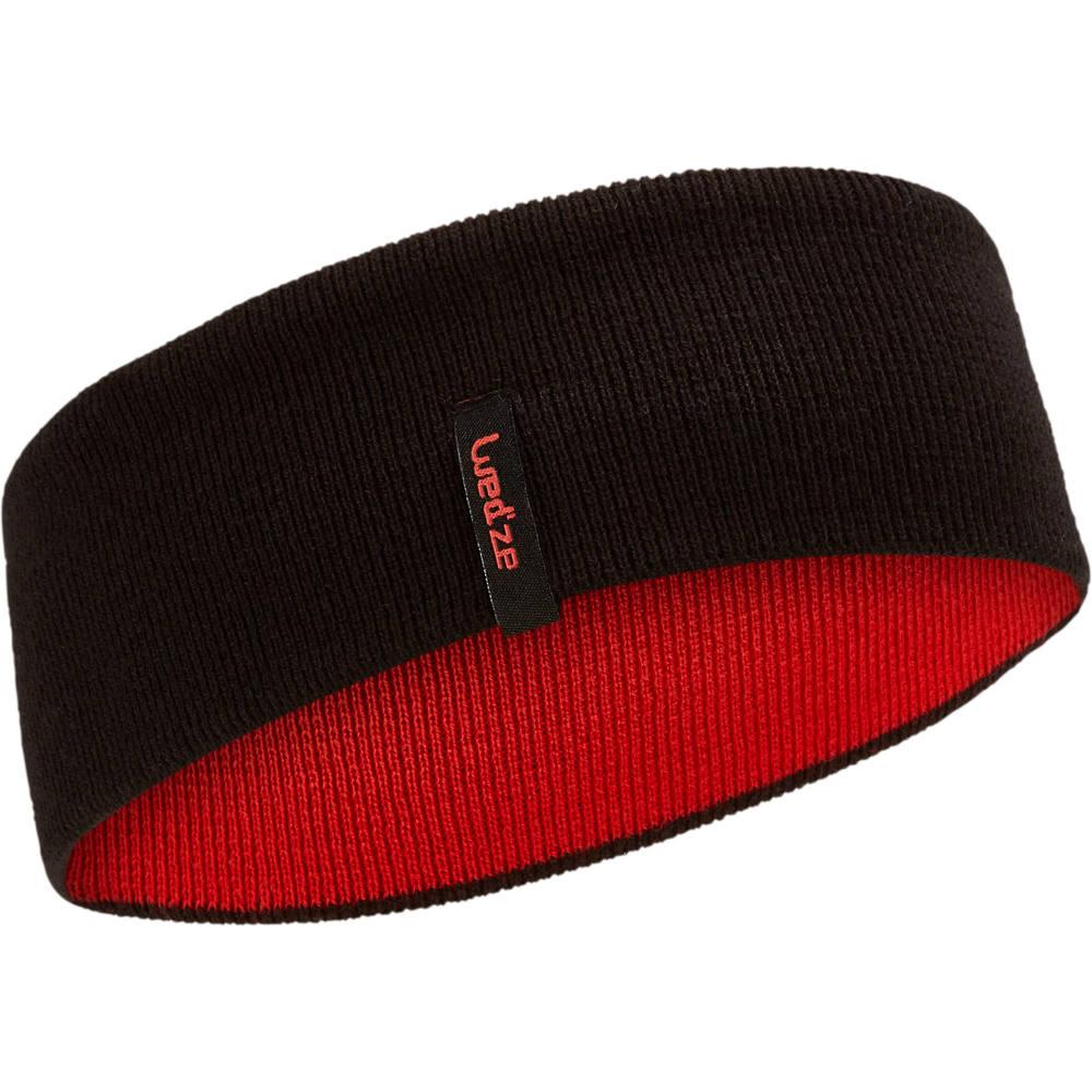 Protetor de orelha infantil Reverse Wed´ze - HEADBAND REVERSE JR BLACK RED  P 232dcdc13e2