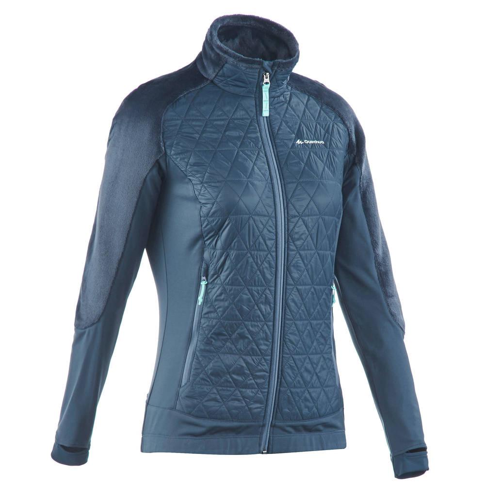 5da4e3d16 Jaqueta fleece feminina de trilha SH500. Jaqueta fleece feminina de trilha  SH500