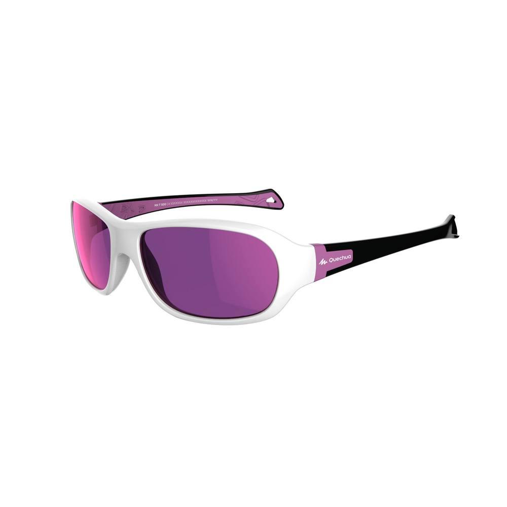 81d55af13ddf6 Óculos de Sol de trilha 500 infantil 7-10 anos Categoria 4 Quechua ...