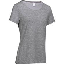 Camiseta Regular de Ginástica e Pilates Feminina Domyos