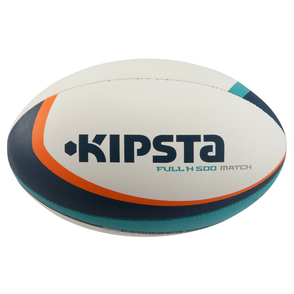 259ee5753557e Bola de Rugby FullH R500 T5 - BALL FULL H 500 S5 TURQUO