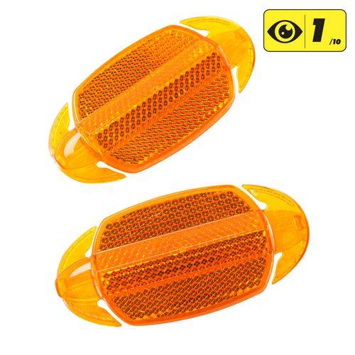 Refletores para rodas X2 - KIT 2 WHEEL REFLECTORS, .