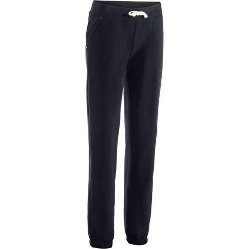 trousers-500-regular-gym-black-w28-l311