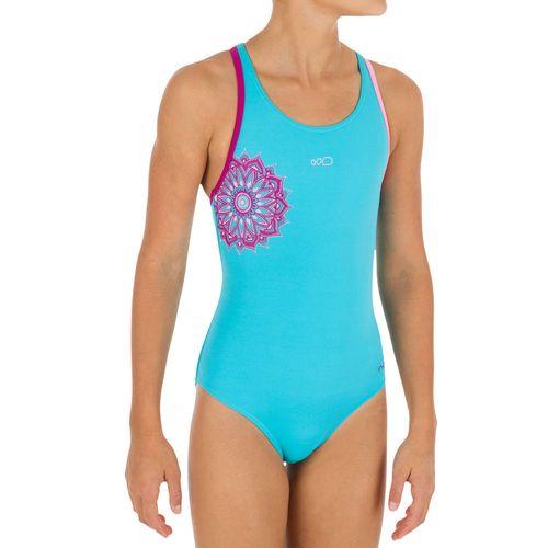 b7d1dbafc Maiô de natação Leony infantil - Decathlon
