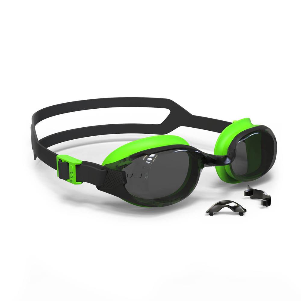 860638515 Óculos de Natação B-FIT - B-FIT BLACK GREEN*, UNIQUE. Óculos de Natação ...