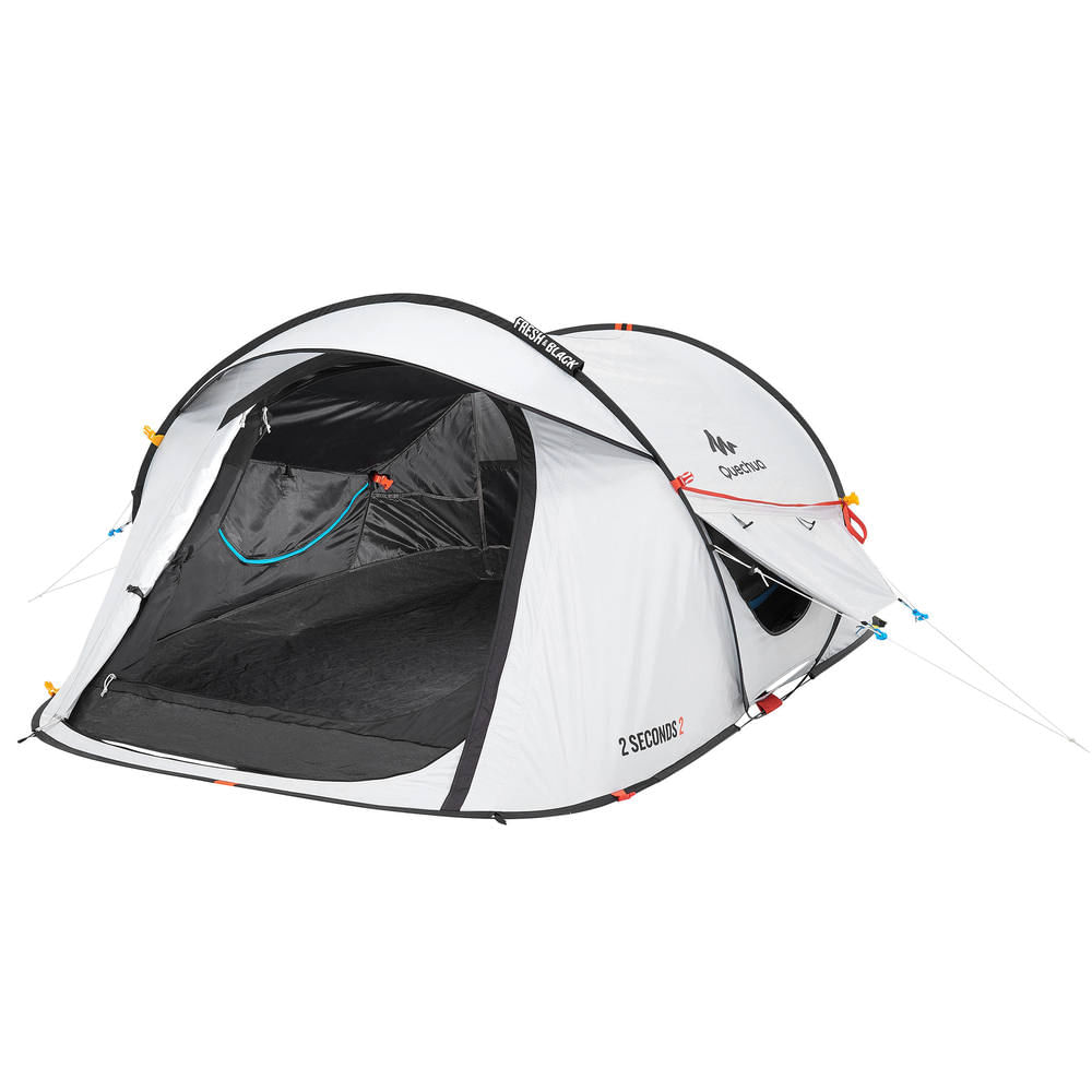 15e02082a Barraca de Camping 2 Seconds Fresh Black 2 Pessoas - 2 SECONDS EASY 2  FRESH BLACK
