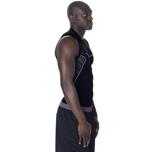 Camiseta térmica regata Masculina Keepdry 500 Tarmak - UNDERTANK KEEPDRY M  BLACK ba5ef781bbef2