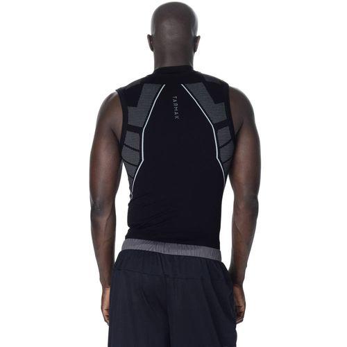 0cedb5641e Camiseta térmica regata Masculina Keepdry 500 Tarmak - UNDERTANK KEEPDRY M  BLACK